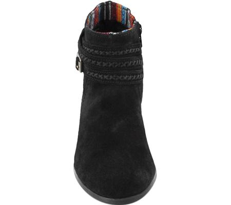Women's Minnetonka Dixon Boot, Black Suede, large, image 4