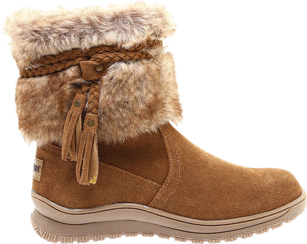 Women's Minnetonka Everett Cold Weather Boot, Dusty Brown Suede, large, image 2