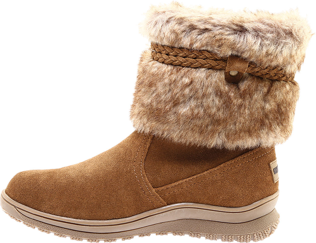 Women's Minnetonka Everett Cold Weather Boot, Dusty Brown Suede, large, image 3