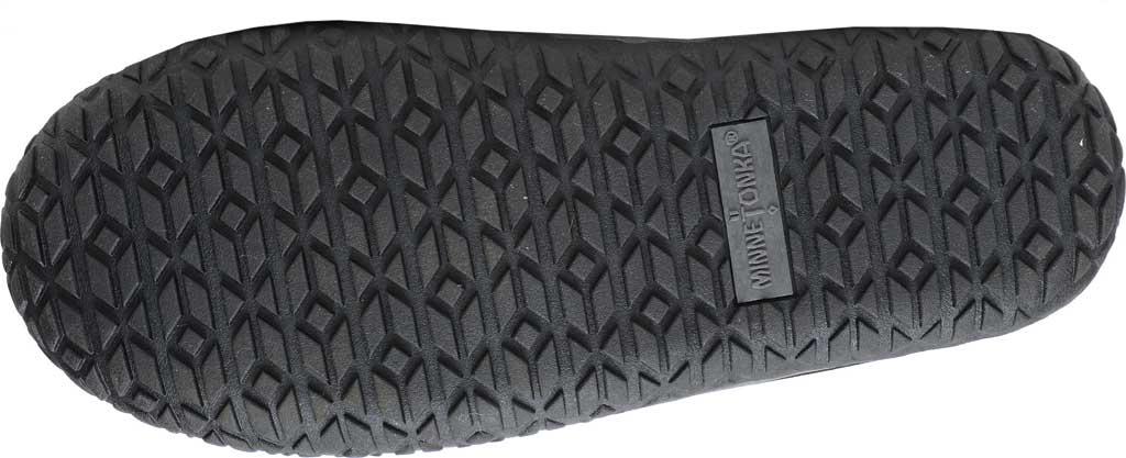 Women's Minnetonka Tega Duck Bootie, Black Polyurethane/Fabric, large, image 5