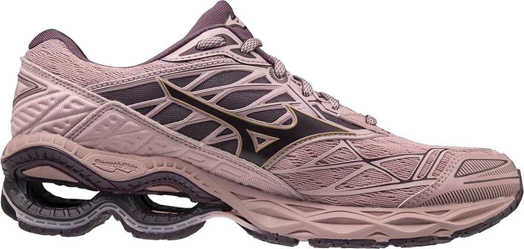 Women's Mizuno Wave Creation 20 Running Shoe, Woodrose/Plum Perfect, large, image 1