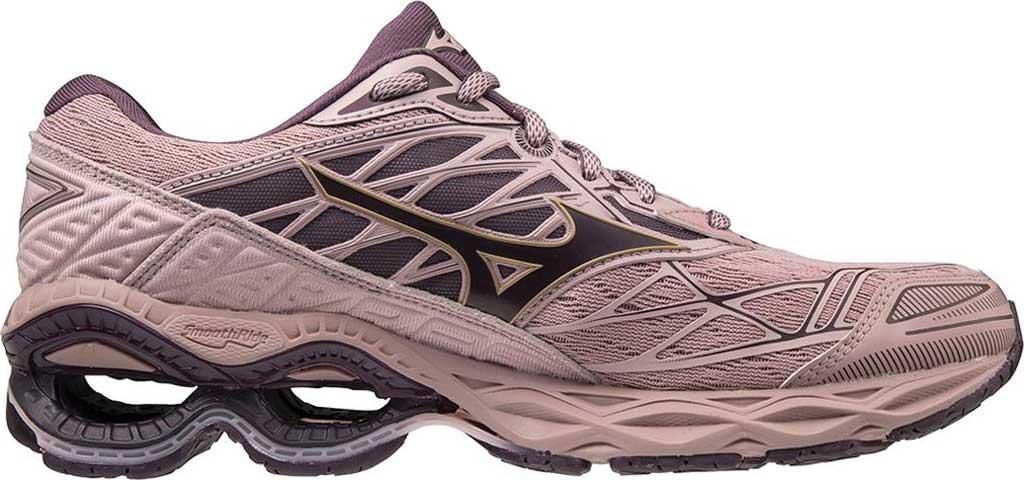 Women's Mizuno Wave Creation 20 Running Shoe, Woodrose/Plum Perfect, large, image 2