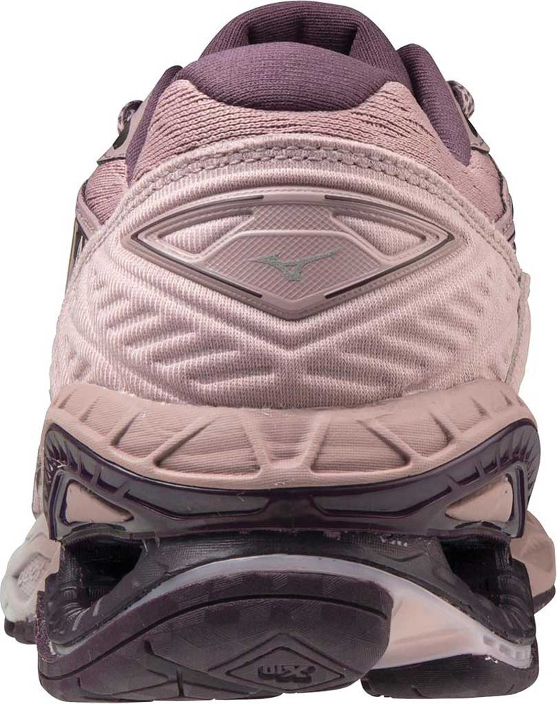 Women's Mizuno Wave Creation 20 Running Shoe, Woodrose/Plum Perfect, large, image 4