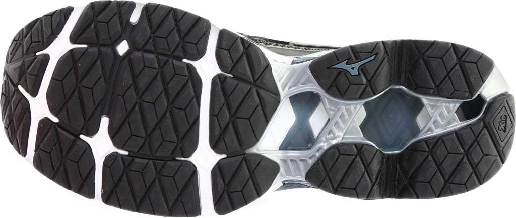 Men's Mizuno WaveKnit C1 Running Shoe, Black/Stormy Weather, large, image 6