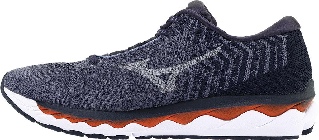 Men's Mizuno Sky WaveKnit 3 Running Shoe, Flintstone/Vapor Blue, large, image 3