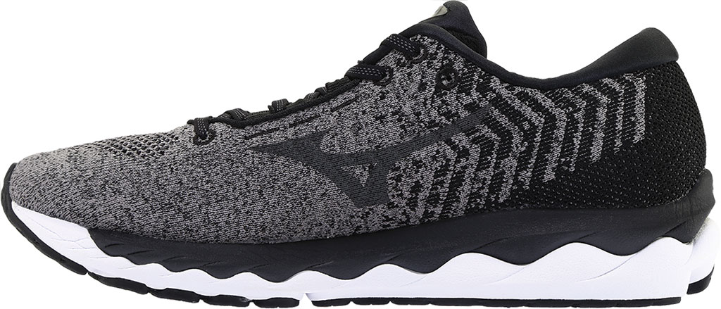 Men's Mizuno Sky WaveKnit 3 Running Shoe, Quiet Shade/Quiet Shade, large, image 3