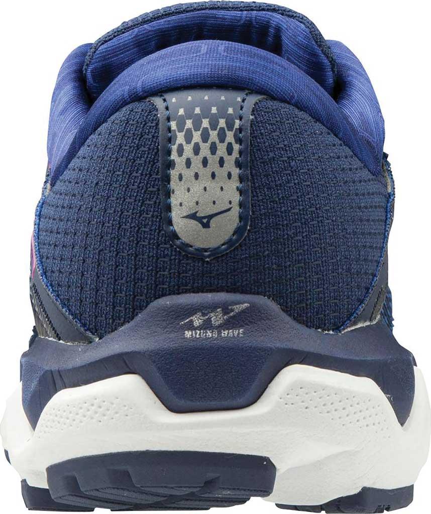 Women's Mizuno Wave Horizon 4 Running Shoe, Medieval Blue/Silver, large, image 2