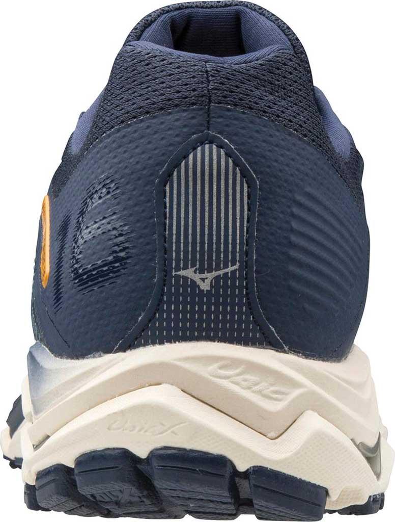 Men's Mizuno Wave Inspire 16 Running Shoe, Mood Indigo/Winter White, large, image 4