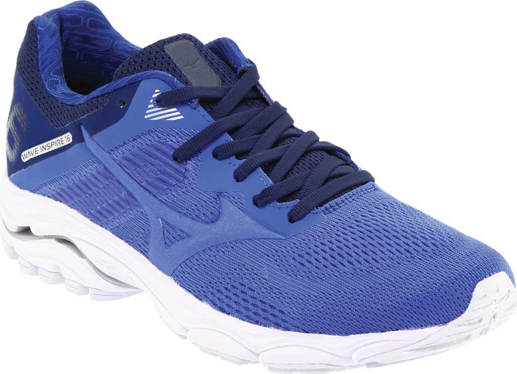 Women's Mizuno Wave Inspire 16 Running Shoe, Dazzling Blue, large, image 1