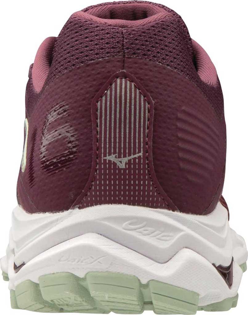 Women's Mizuno Wave Inspire 16 Running Shoe, Mauve Wine/Cayenne, large, image 3