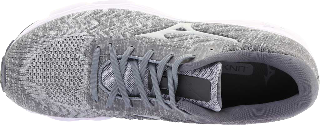 Men's Mizuno Inspire 16 WaveKnit Running Shoe, High Rise/Glacier Gray, large, image 5