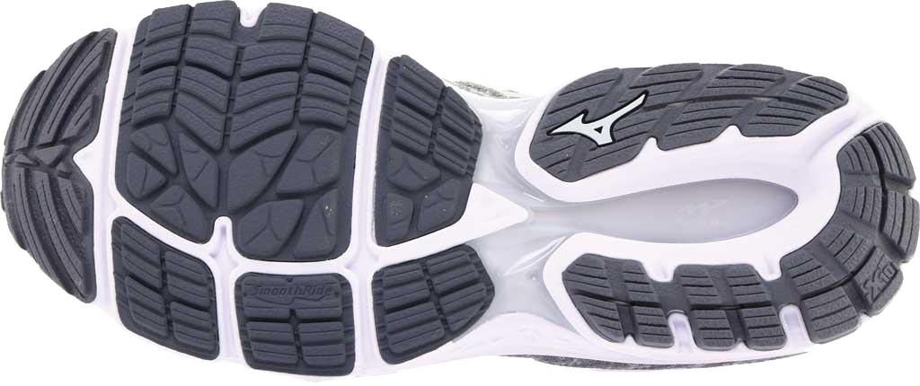 Men's Mizuno Inspire 16 WaveKnit Running Shoe, High Rise/Glacier Gray, large, image 6