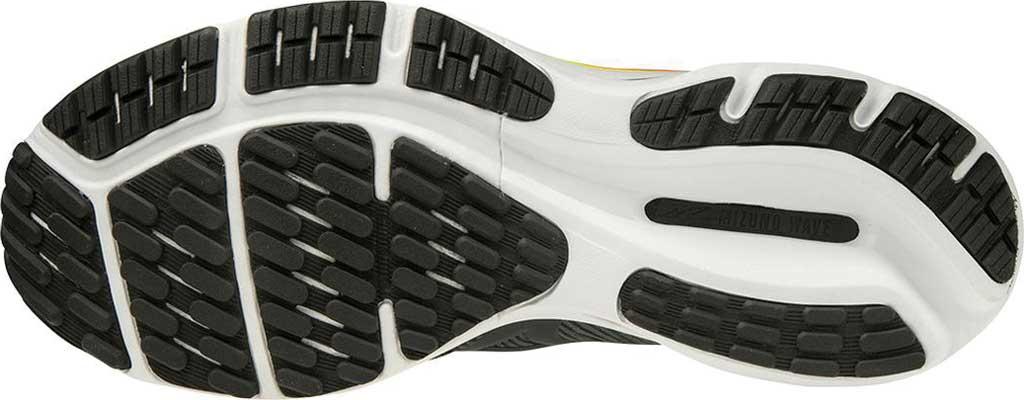 Men's Mizuno Wave Rider 24 Running Shoe, Castlerock-Phantom, large, image 6