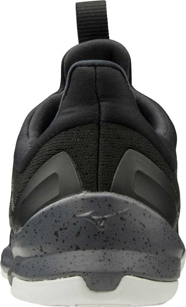Women's Mizuno TC-01 Training Shoe, Black-Grey, large, image 3