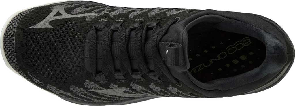 Women's Mizuno TC-01 Training Shoe, Black-Grey, large, image 4