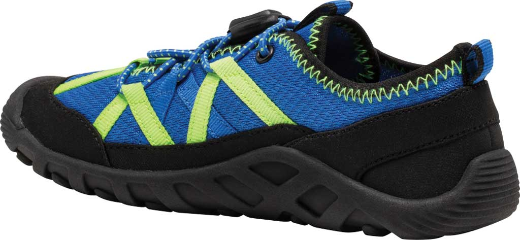 Boys' Merrell Hydro Lagoon Sneaker, Blue/Black Mesh, large, image 3
