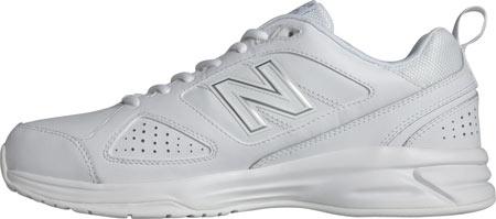 Men's New Balance MX623v3 Training Shoe, White, large, image 2