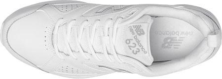 Men's New Balance MX623v3 Training Shoe, White, large, image 4