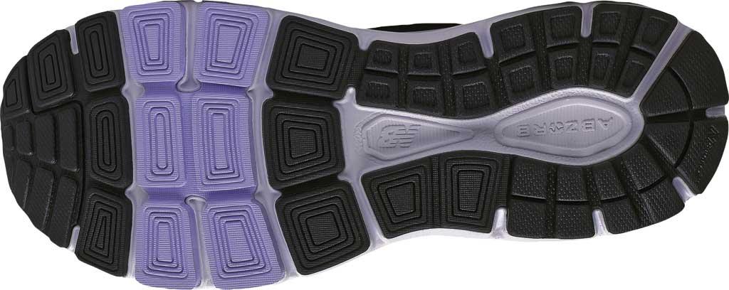 Women's New Balance W840v4 Running Shoe, Black/White, large, image 4