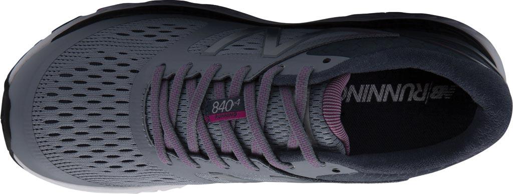 Women's New Balance W840v4 Running Shoe, Cyclone/Poisonberry, large, image 3