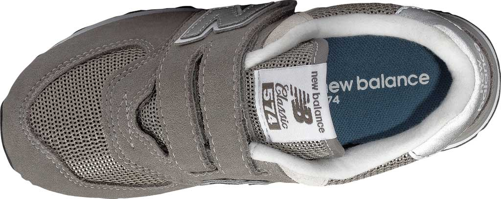 Children's New Balance 574 Sneaker - Hook and Loop, , large, image 4