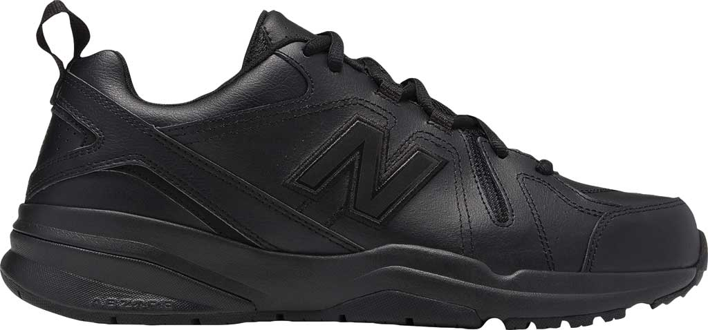 Men's New Balance 608v5 Trainer, Black/Black, large, image 1