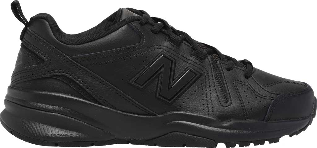 Women's New Balance 608v5 Trainer, Black/Black, large, image 2