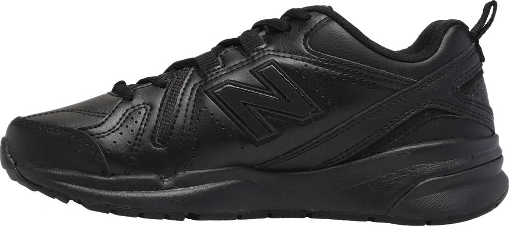 Women's New Balance 608v5 Trainer, Black/Black, large, image 3