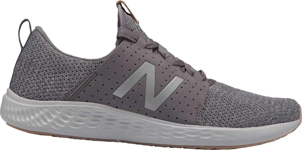 Men's New Balance Fresh Foam Sport v1 Running Shoe, Castlerock/Team Away Grey, large, image 1