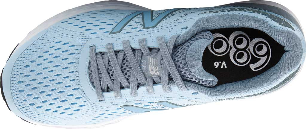 Women's New Balance 680v6 Running Shoe, Air/Reflection, large, image 3