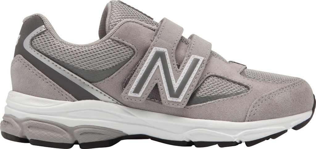 Boys' New Balance 888v2 Hook and Loop Sneaker - Preschool, Grey/Grey, large, image 1