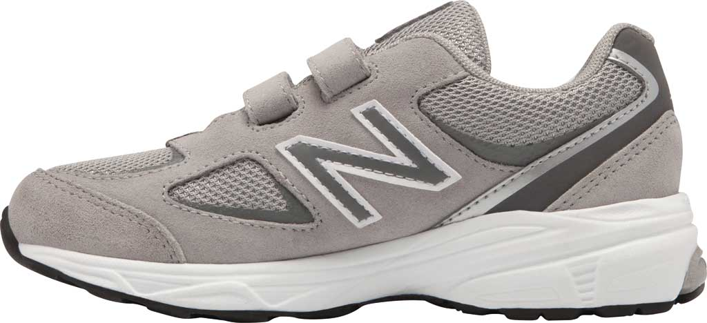 Boys' New Balance 888v2 Hook and Loop Sneaker - Preschool, Grey/Grey, large, image 2