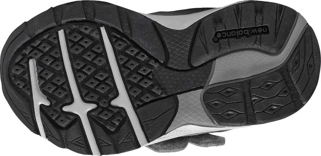 Infant Boys' New Balance 888v2 Hook and Loop Sneaker, Grey/Grey, large, image 4