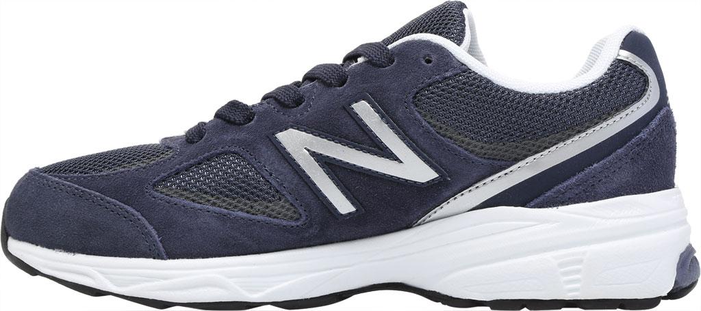Boys' New Balance 888v2 Running Shoe - Preschool, Navy/Grey, large, image 3