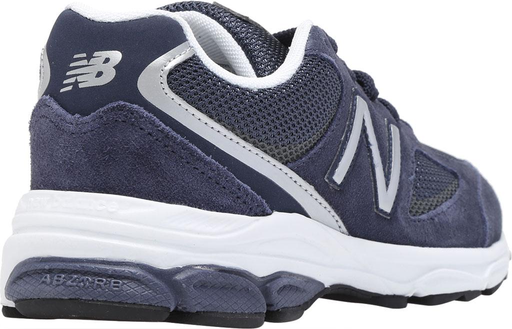 Boys' New Balance 888v2 Running Shoe - Preschool, Navy/Grey, large, image 4
