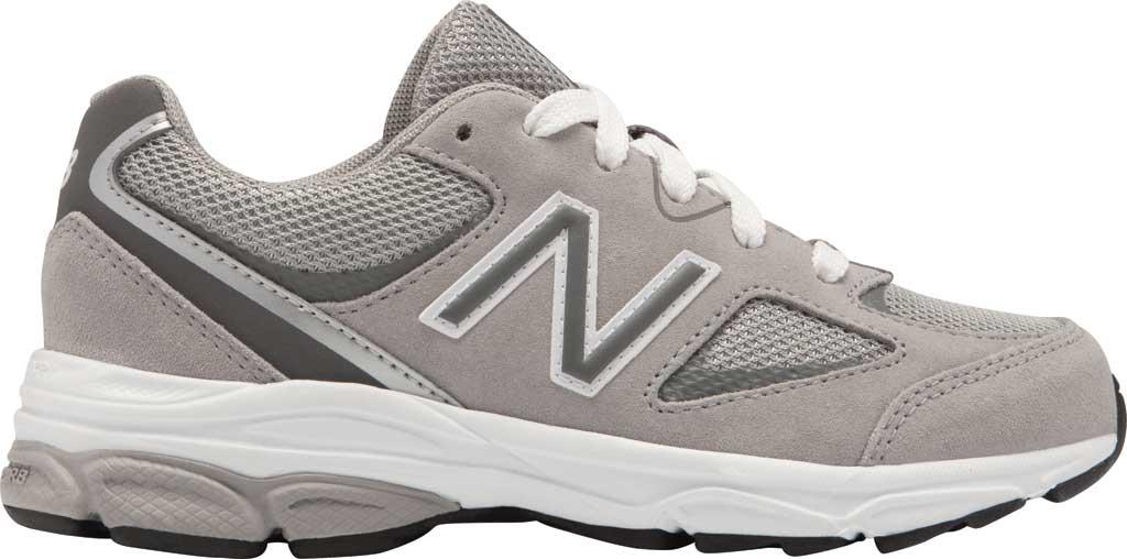 Boys' New Balance 888v2 Running Shoe - Preschool, Grey/Grey, large, image 1