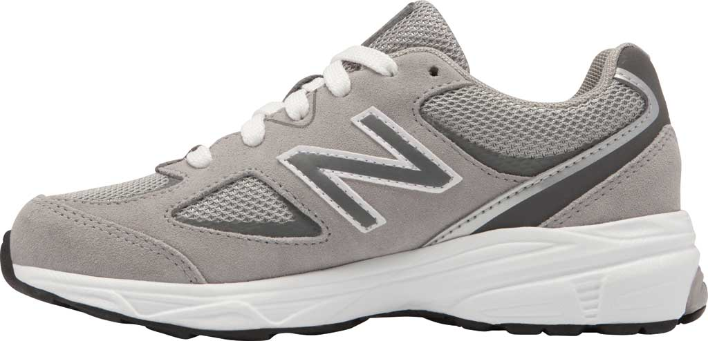 Boys' New Balance 888v2 Running Shoe - Preschool, Grey/Grey, large, image 2