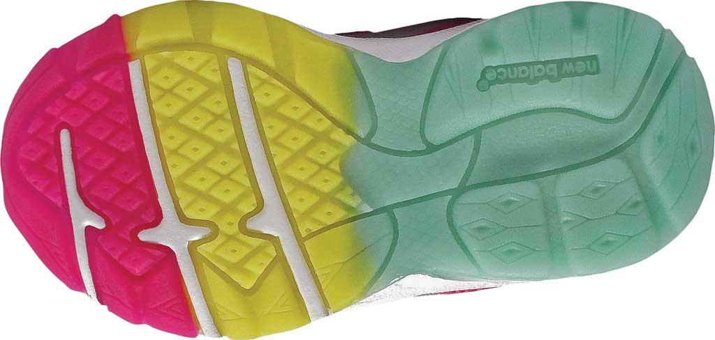 Infant Girls' New Balance 888v2 Running Shoe, Grey/Rainbow, large, image 4