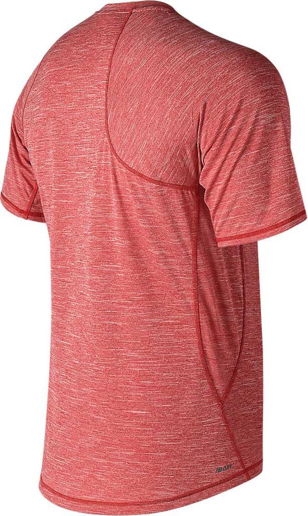Men's New Balance MT91711 Tenacity Asym Short Sleeve Tee, , large, image 2