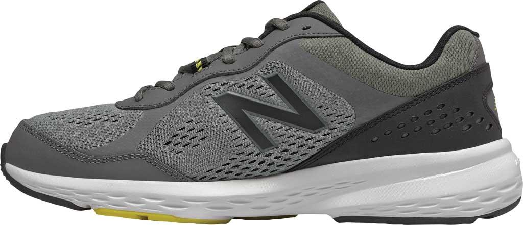 Men's New Balance 517v2 Cross Training Shoe, Castlerock/Sulphur Yellow, large, image 3