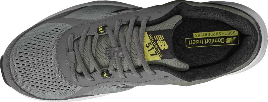 Men's New Balance 517v2 Cross Training Shoe, Castlerock/Sulphur Yellow, large, image 4