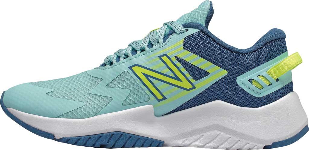 Girls' New Balance Rave Run Sneaker, , large, image 2