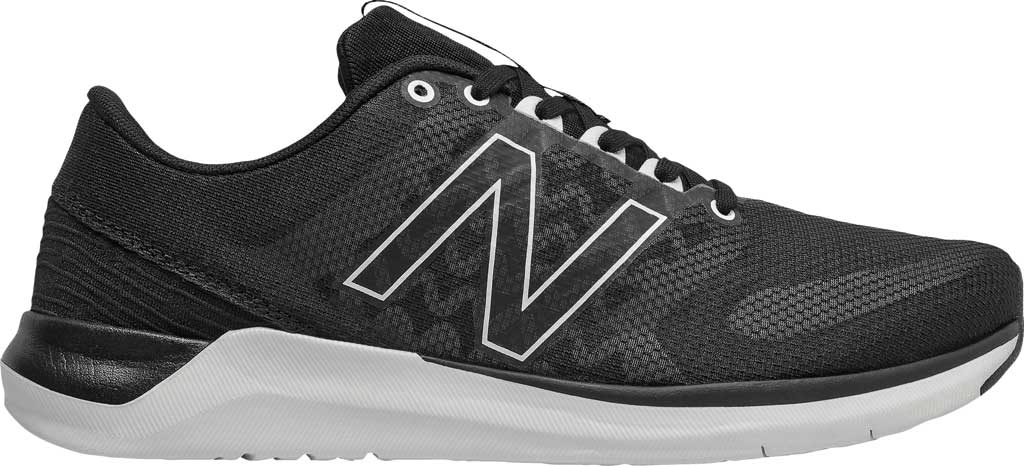 Women's New Balance 715v4 Trainer, Black/White, large, image 1