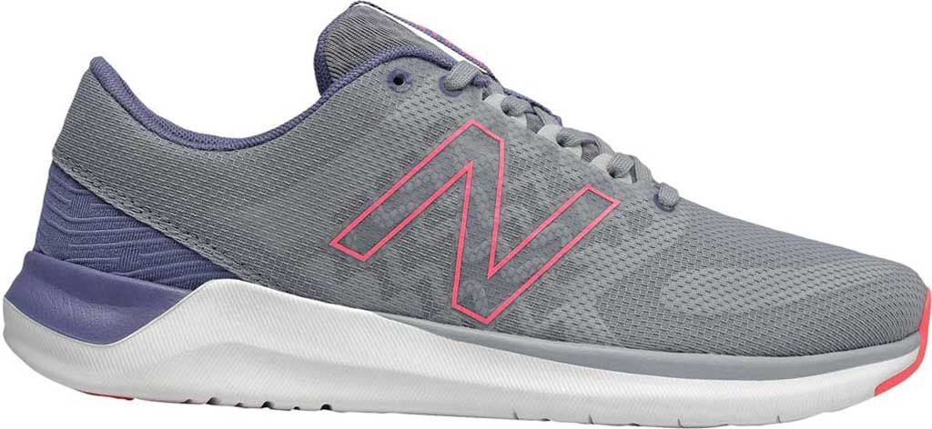 Women's New Balance 715v4 Trainer, Steel/Guava, large, image 1