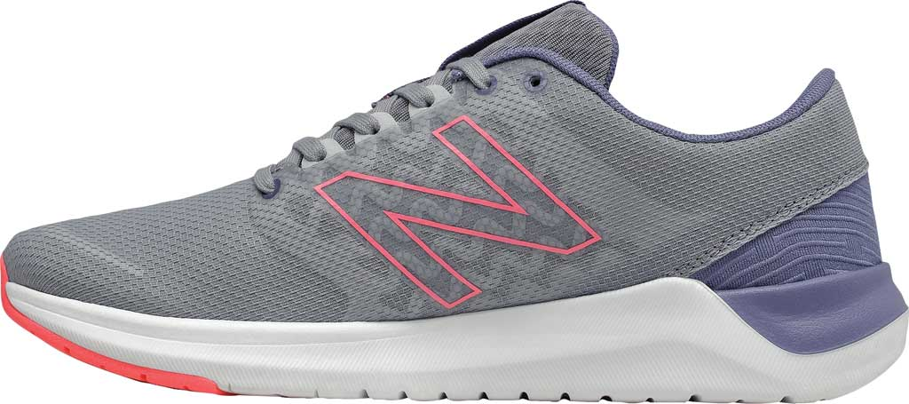Women's New Balance 715v4 Trainer, Steel/Guava, large, image 3