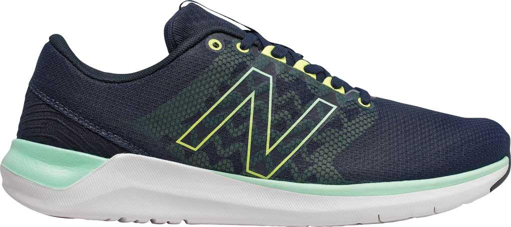 Women's New Balance 715v4 Trainer, Natural Indigo/Neo Mint/White, large, image 1