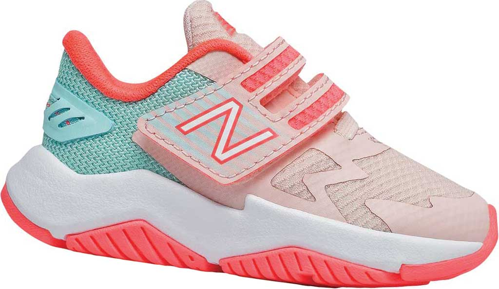 Infant Girls' New Balance Rave Run Hook and Loop Sneaker, , large, image 1