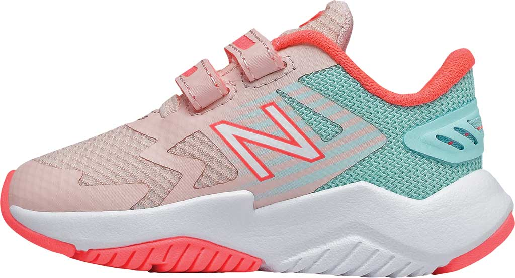 Infant Girls' New Balance Rave Run Hook and Loop Sneaker, , large, image 3