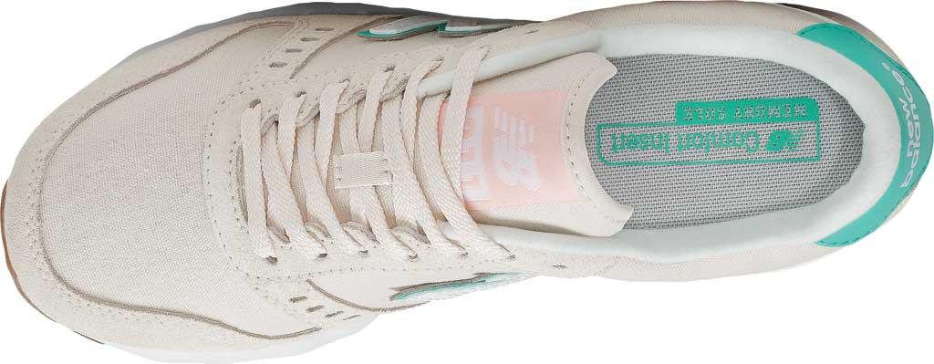 Women's New Balance 311v2 Sneaker, Raw Silk/Summer Jade, large, image 4