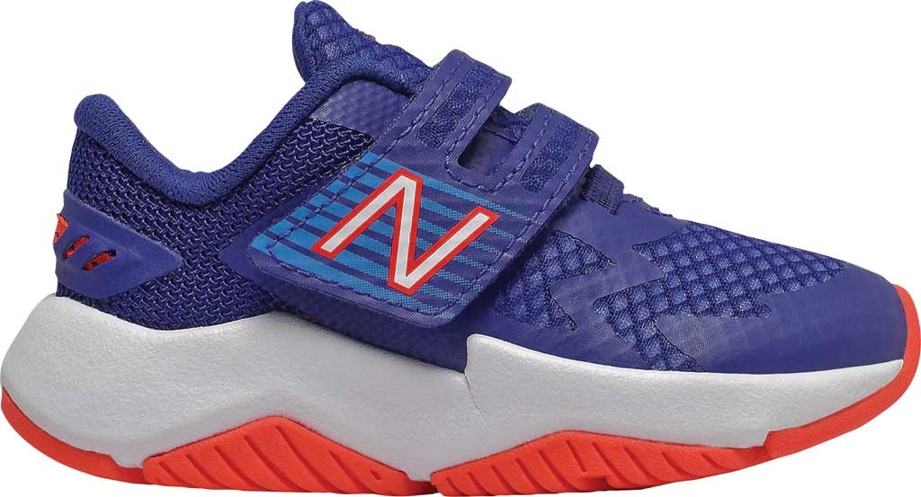 Infant Boys' New Balance Rave Run Hook and Loop Sneaker, , large, image 1